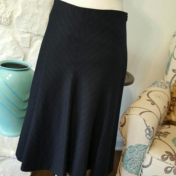 Ann Taylor Dresses & Skirts - ANN TAYLOR PINSTRIPE BLUE SKIRT SIZE 6